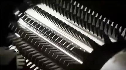 齿轮刀具切削视频